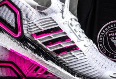 Image de l'article adidas présente deux paires d'UltraBoost DNA David Beckham