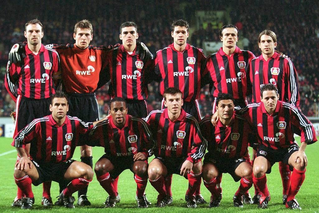 Bayer Leverkusen Real Madrid 2001-2002