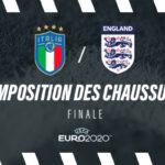 La composition de Italie – Angleterre en crampons – Finale Euro 2020