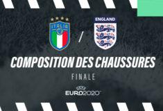 Image de l'article La composition de Italie – Angleterre en crampons – Finale Euro 2020