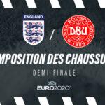 La composition de Angleterre – Danemark en crampons – 1/2 finale Euro 2020