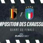 La composition de Belgique – Italie en crampons – Euro 2020