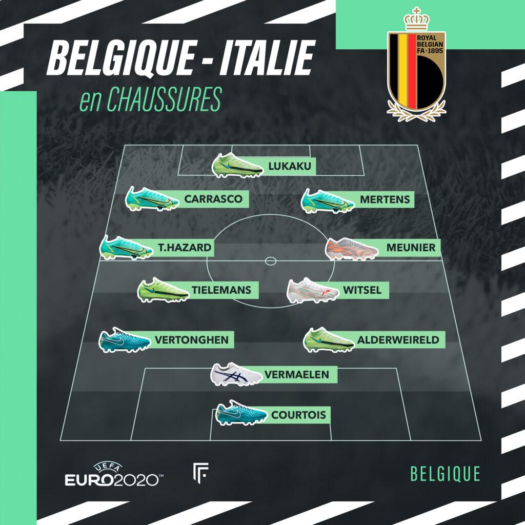 Compo Belgique-Italie EURO 2020