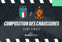 Image de l'article La composition de Italie-Espagne en crampons – 1/2 finale Euro 2020