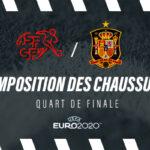 La composition de Suisse – Espagne en crampons – Euro 2020