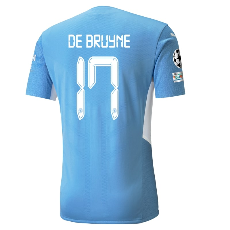 Flocage Manchester City Kevin de Bruyne