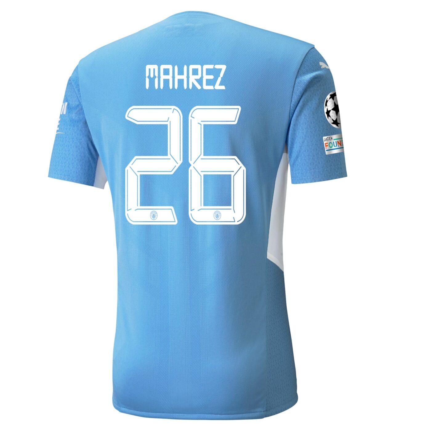 Flocage Manchester City Riyad Mahrez