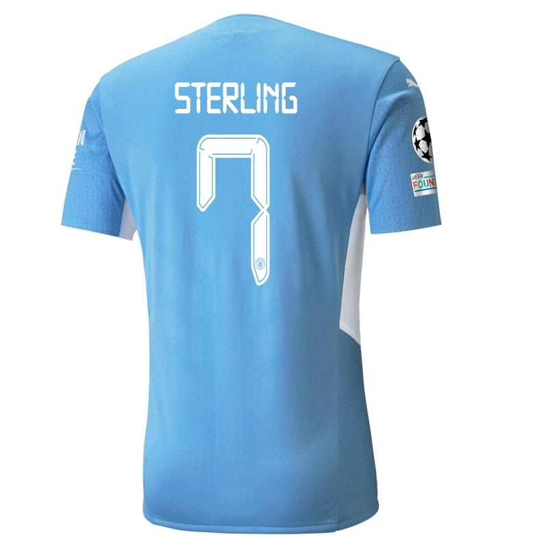 Flocage Manchester City Raheem Sterling