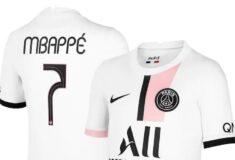 Image de l'article Encore un flocage inédit pour le PSG sur les maillots de Champions League