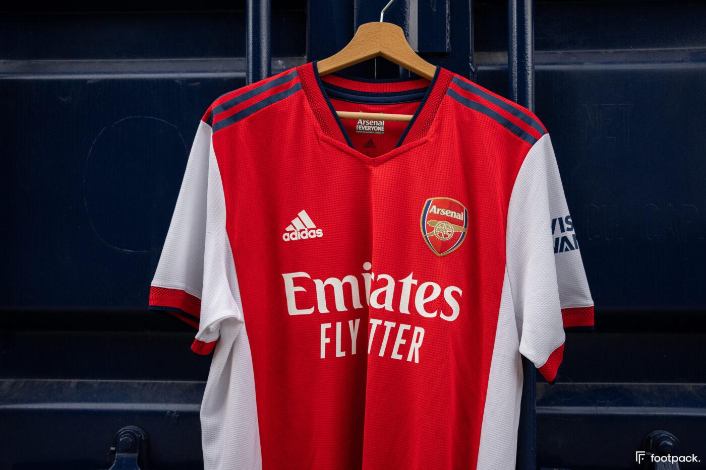 Maillot Arsenal 2021-2022 domicile - footpack
