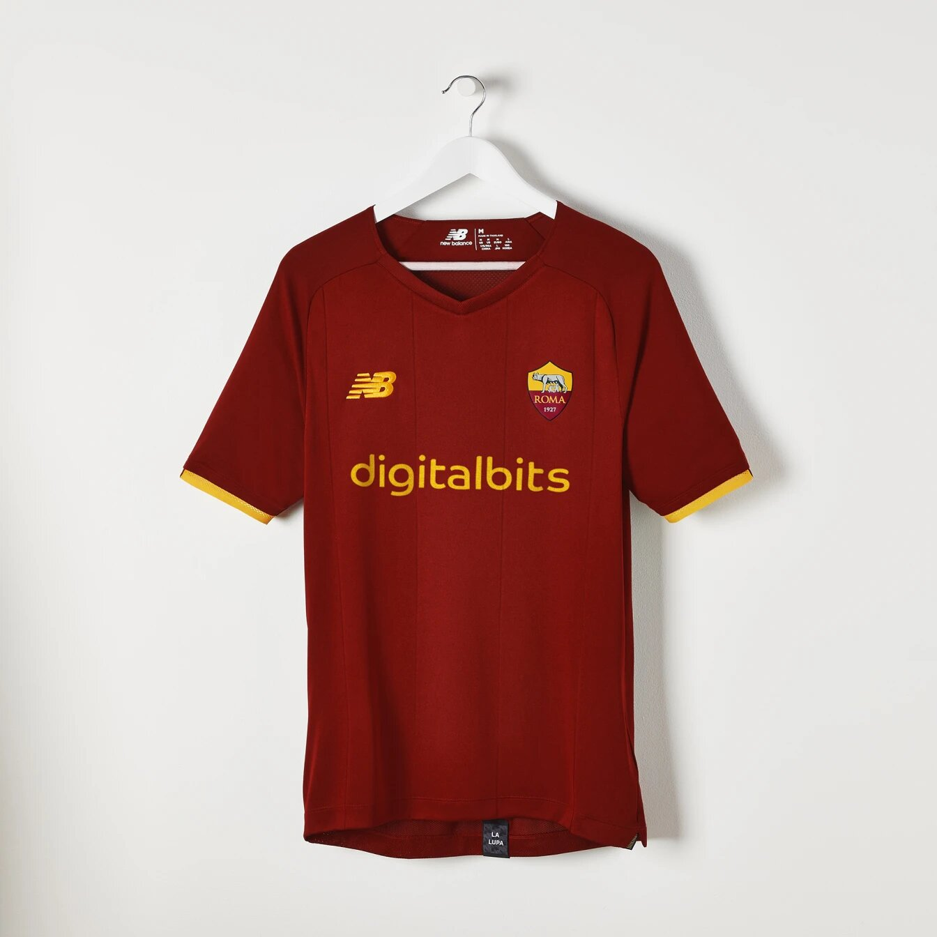 Maillot AS Rome 2021-2022 New Balance