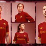 Les maillots de l'AS Rome 2021-2022 révélés par New Balance