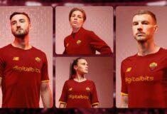 Image de l'article Les maillots de l'AS Rome 2021-2022 révélés par New Balance