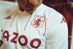 Image de l'article Les maillots de Aston Villa 2021-2022 officialisés par Kappa