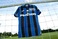 Image de l'article Les maillots de l'Atalanta Bergame 2021-2022 révélés par Joma