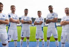 Image de l'article Les maillots de Auxerre 2021-2022 présentés par Macron