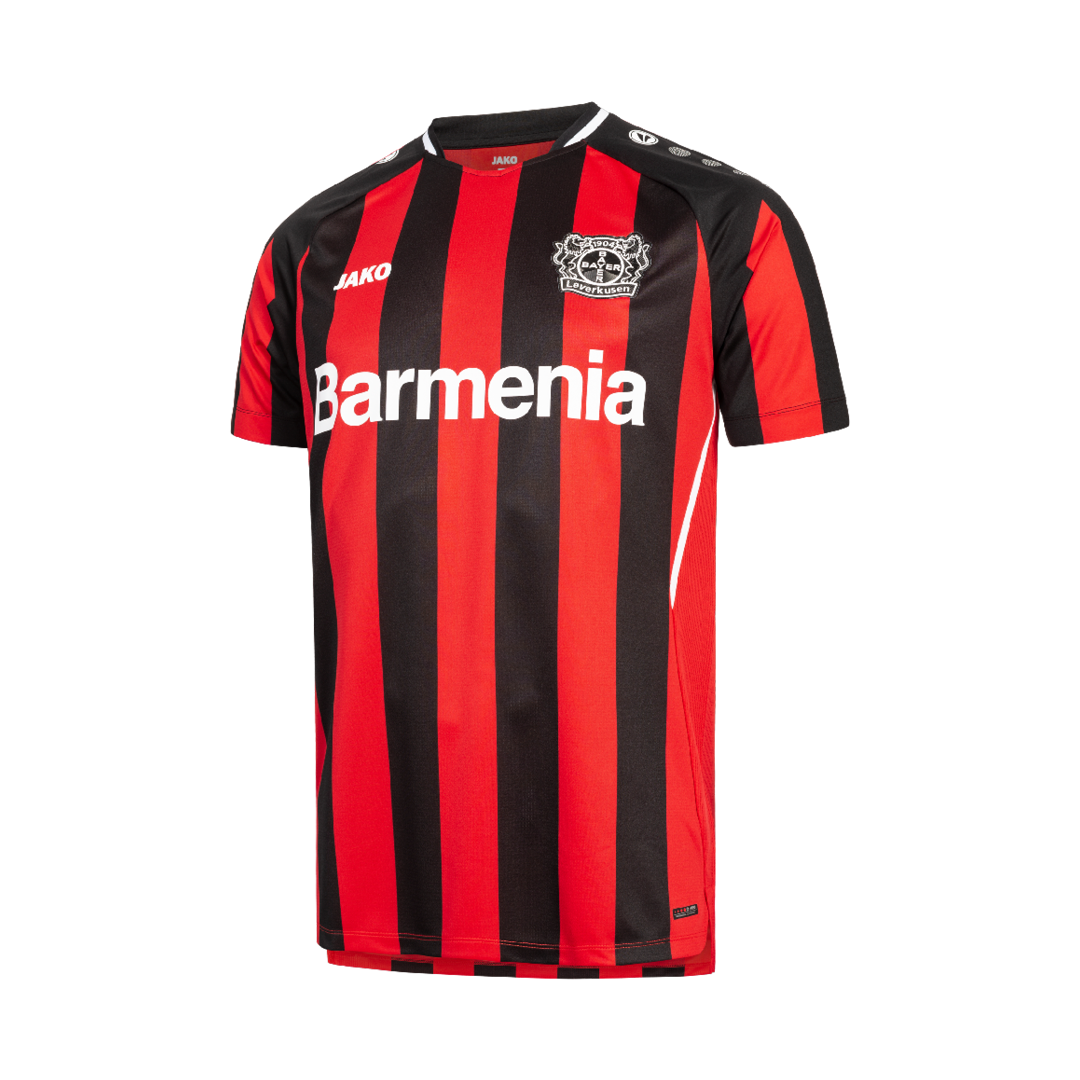 Maillot Bayer Leverkusen 2021-2022 Jako