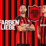 Les maillots du Bayer Leverkusen 2021-2022 dévoilés par Jako