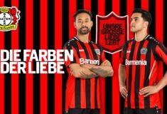 Image de l'article Les maillots du Bayer Leverkusen 2021-2022 dévoilés par Jako
