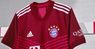 Image de l'article Les maillots du Bayern Munich 2021-2022 dévoilés par adidas