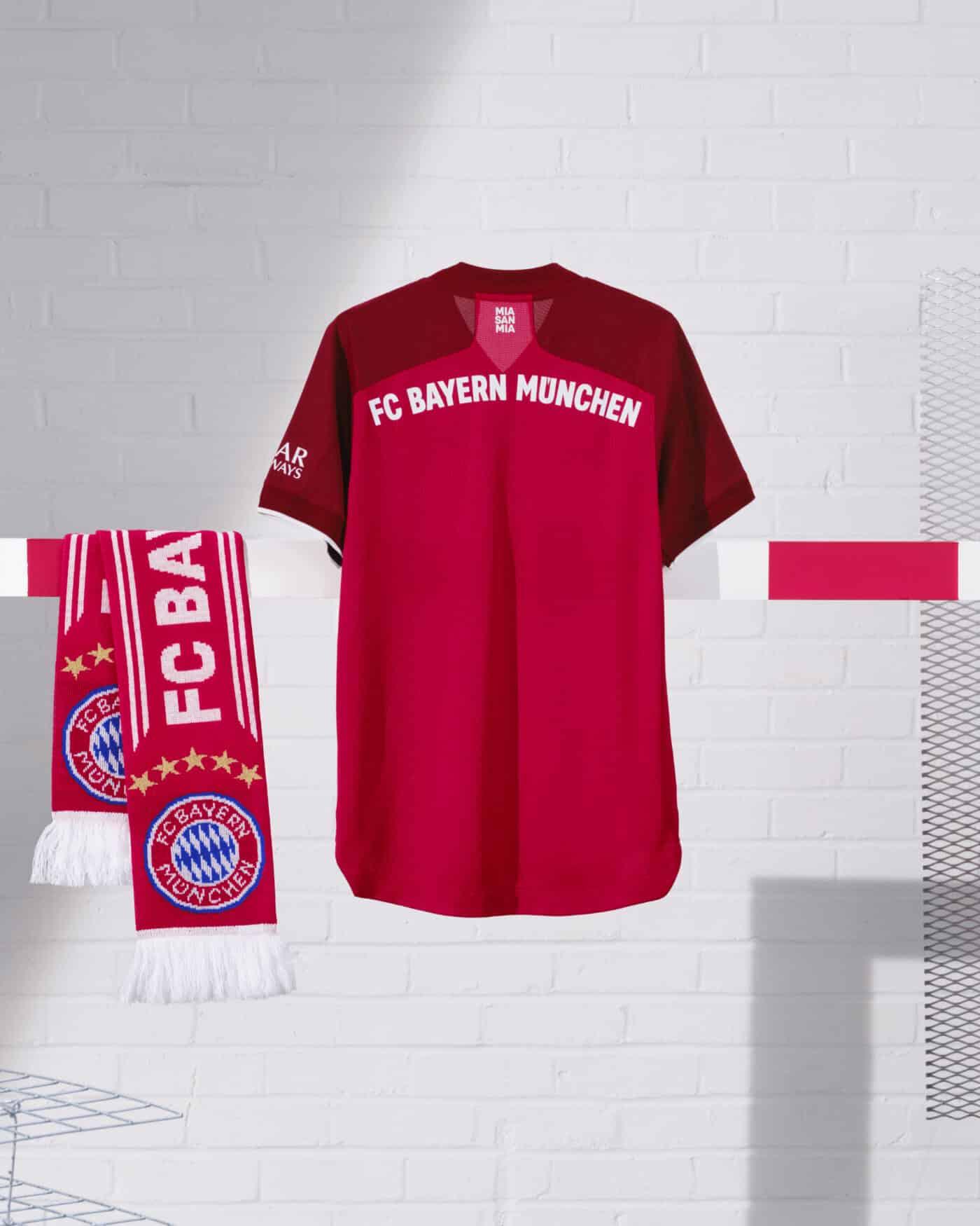 Maillots Bayern Munich domicile 2021-2022 adidas