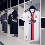 Les maillots de Besiktas 2021-2022 dévoilés par adidas