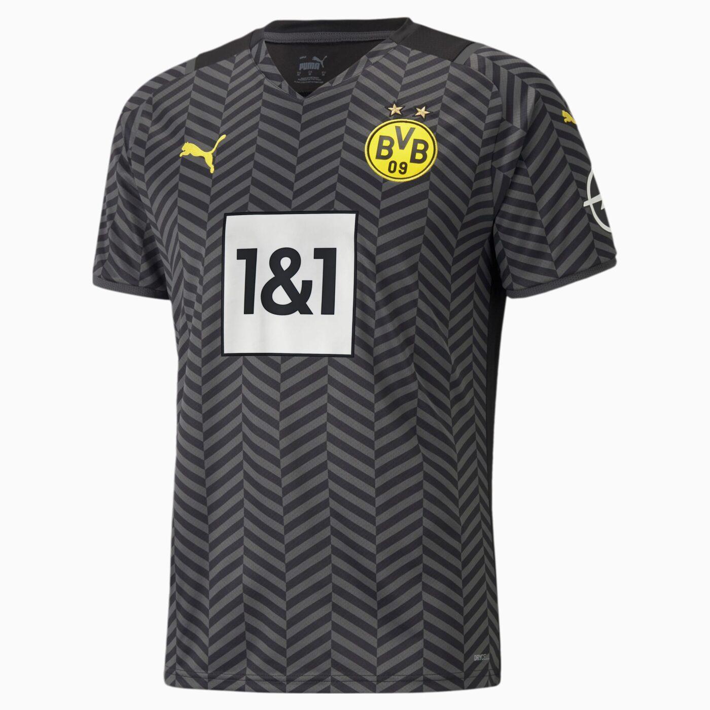 Maillot Borussia Dortmund 2021-2022 exterieur PUMA