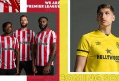 Image de l'article Les maillots de Brentford 2021-2022 dévoilés par Umbro