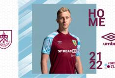 Image de l'article Les maillots de Burnley 2021-2022 révélés par Umbro