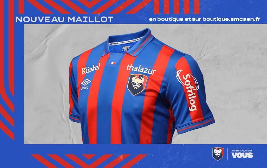 Maillot Caen 2021-2022 Umbro