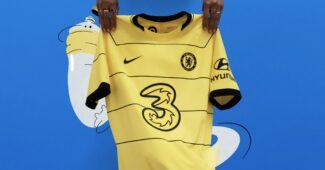 Image de l'article Le jaune fait sont retour sur le maillot extérieur de Chelsea