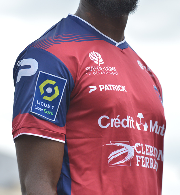 Maillot Clermont 2021-2022 Patrick