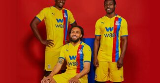 Image de l'article Les maillots de Crystal Palace 2021-2022 officialisés par PUMA