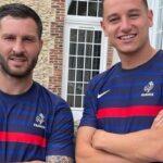 Thauvin et Gignac dévoilent le maillot de l'équipe de France aux JO de Tokyo