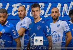 Image de l'article Les maillots de l'ESTAC 2021-2022 dévoilés par Le Coq Sportif