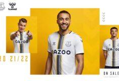 Image de l'article Everton dévoile un maillot third inspiré des années 50 avec hummel