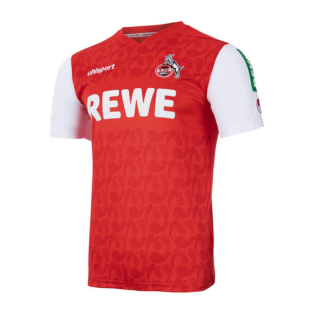 Maillot FC Cologne 2021-2022 exterieur uhlsport