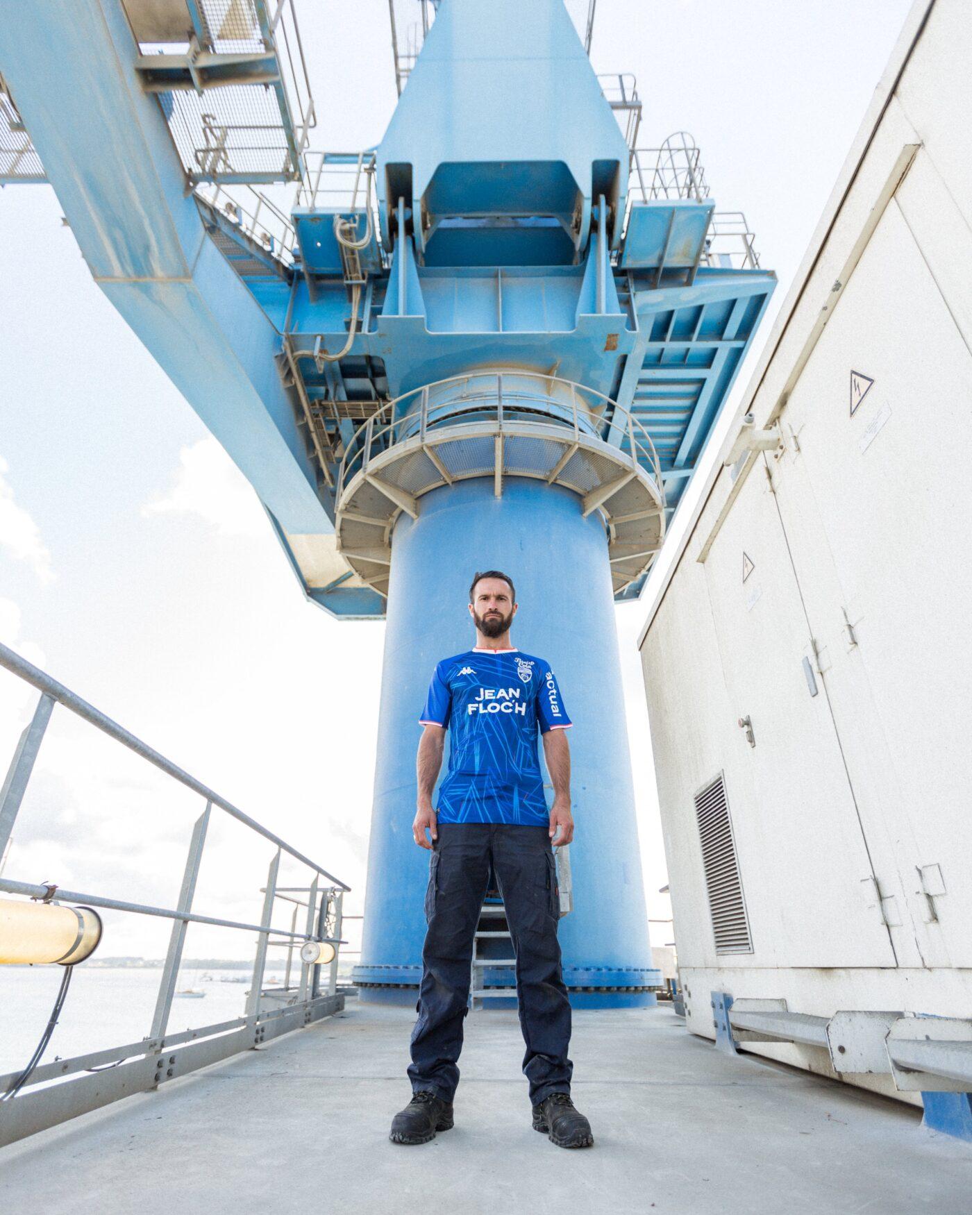 Maillot Lorient 2021-2022 third Kappa
