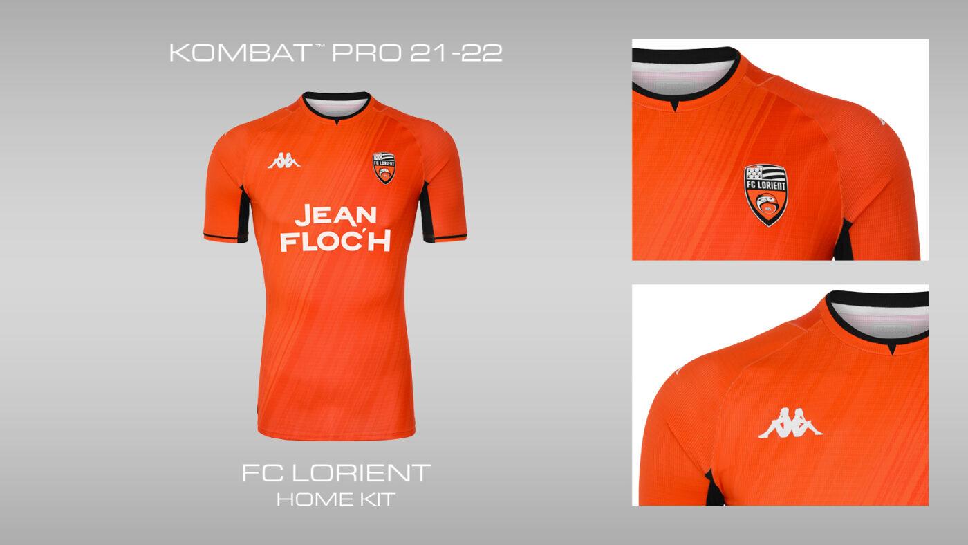 Maillot FC Lorient domicile 2021-2022