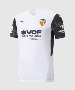 Maillot Domicile du FC Valence