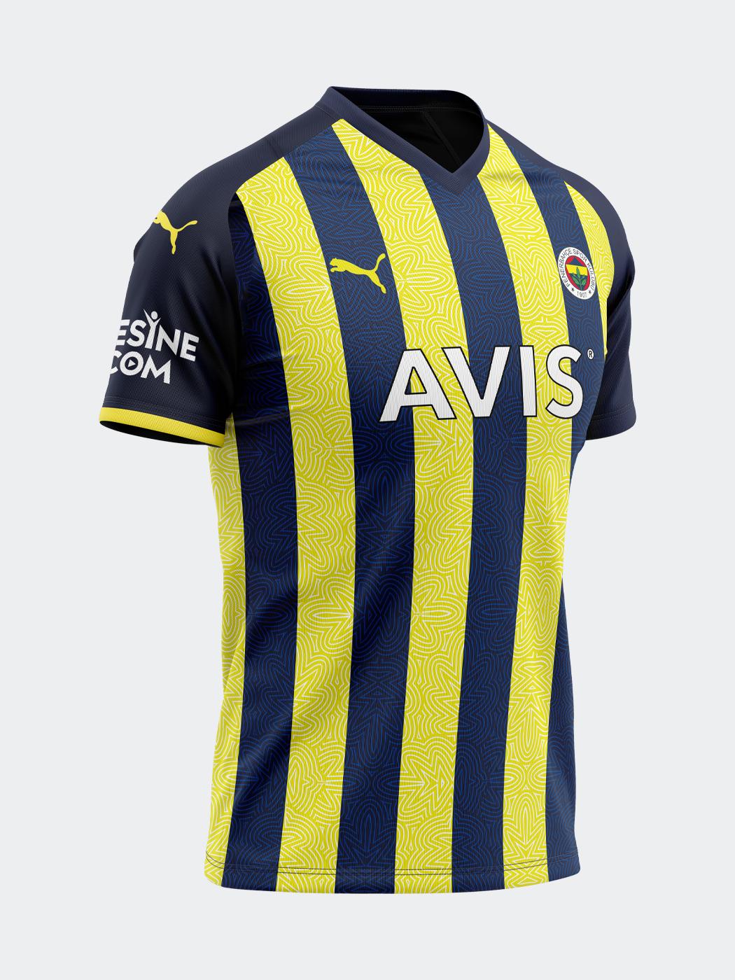Maillot Fenerbahçe 2021-2022 domicile PUMA
