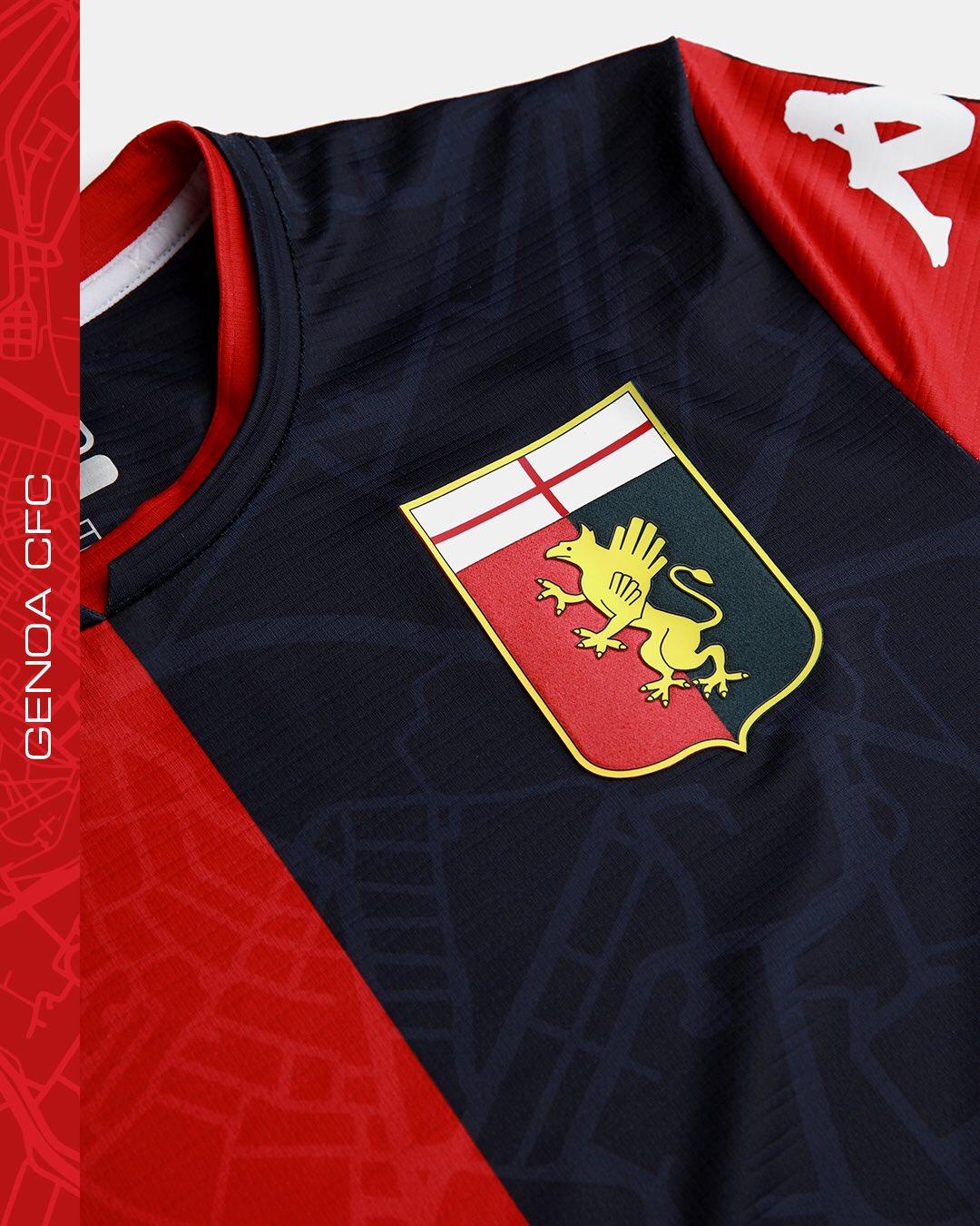Maillot Genoa 2021-2022 Kappa