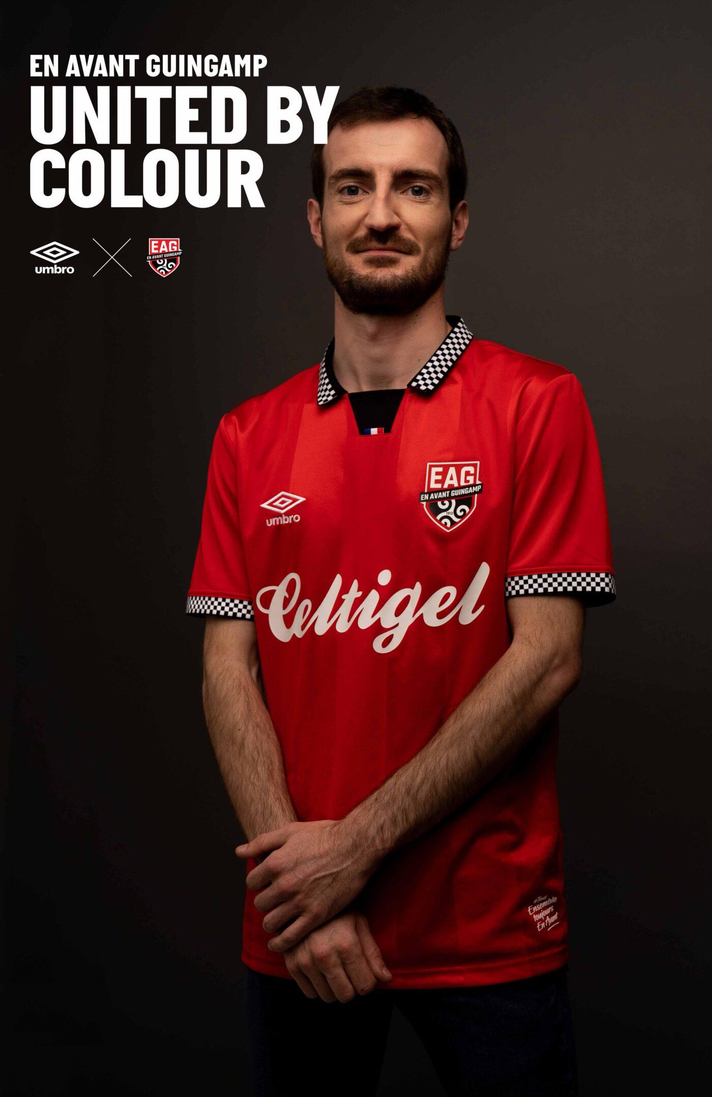 Maillot Guingamp 2021-2022 Umbro