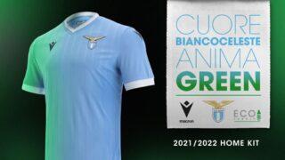 Image de l'article Les maillots de la Lazio Rome 2021-2022 lancés par Macron