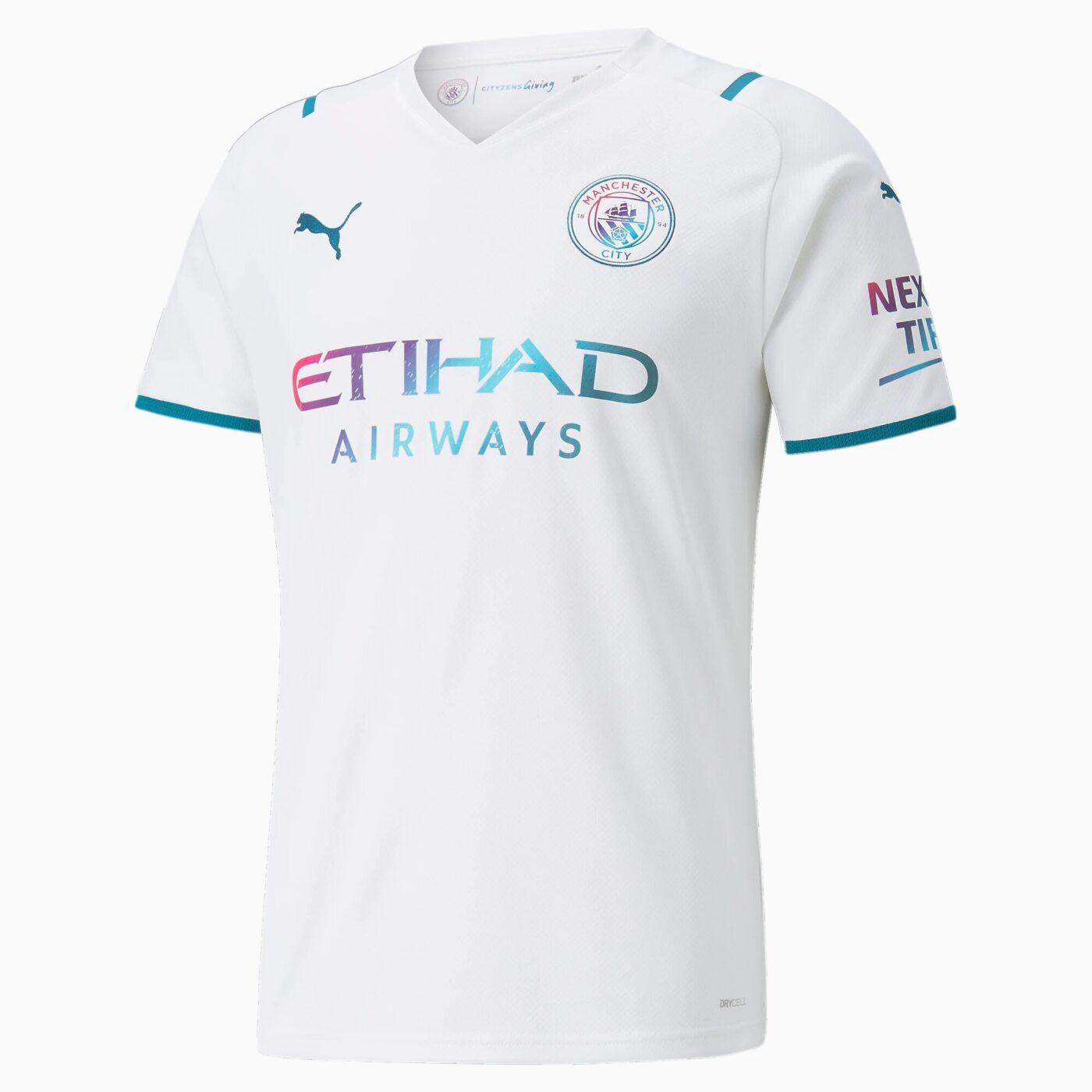 Maillot Manchester City 2021-2022 exterieur PUMA