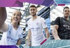 Image de l'article Le maillot extérieur de Manchester City imaginé pour célébrer … l'eau potable!