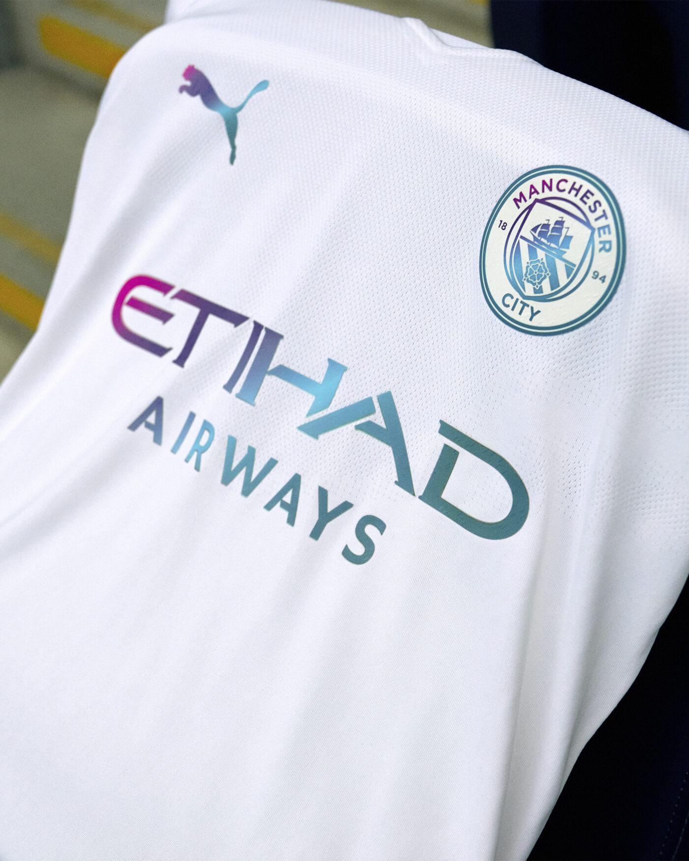 Maillot Manchester City 2021-2022 extérieur PUMA