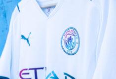 Image de l'article Le maillot extérieur de Manchester City imaginé pour célébrer ... l'eau potable !