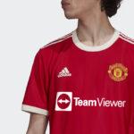 Les maillots de Manchester United 2021-2022 dévoilés par adidas