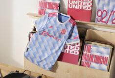 Image de l'article Un maillot extérieur inspiré de 1992 pour Manchester United